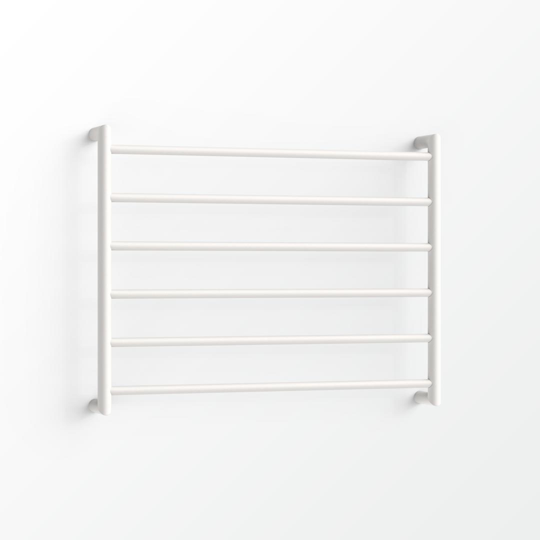 (Clearance) Form Non-Heated Towel Ladder - 60x75cm Satin White