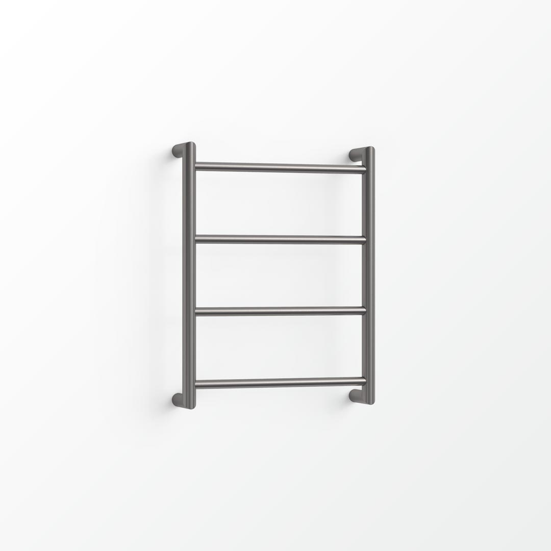(Clearance) Fluid Non-Heated Towel Ladder - 55x40cm Satin Black
