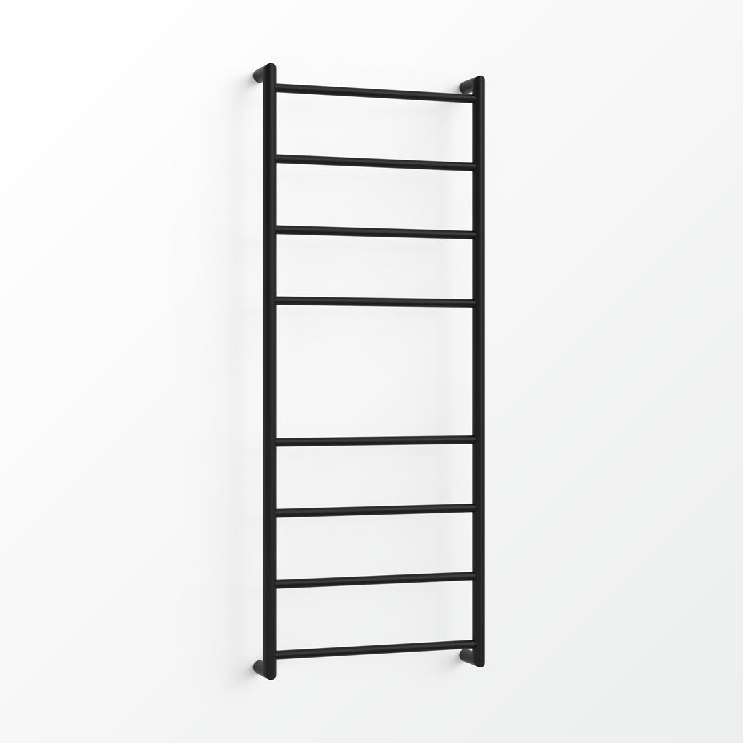 Fluid Heated Towel Ladder - 130x48cm