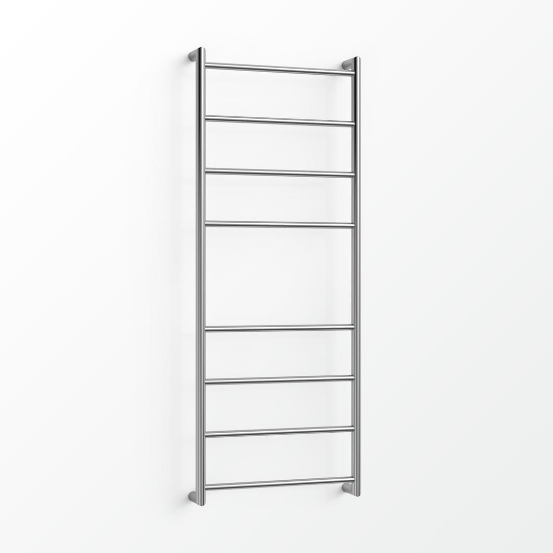 (Clearance) Fluid Heated Towel Ladder - 130x48cm (CBR) Matt Black