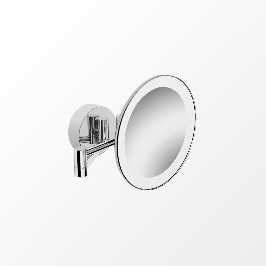 Universal LED Magnifying Mirror - Concealed