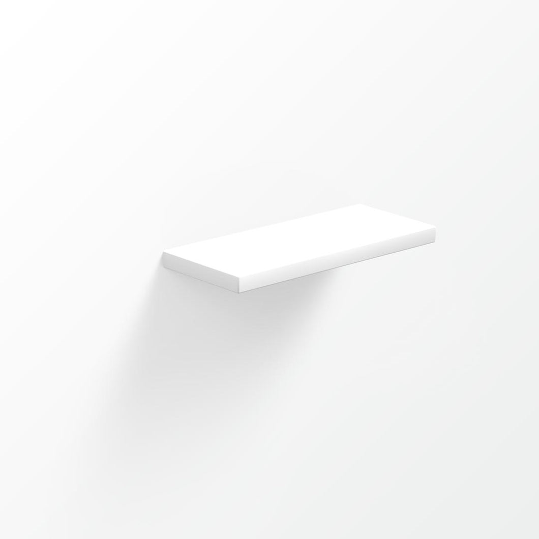 Universal Solid Surface Shelf - 30x12cm