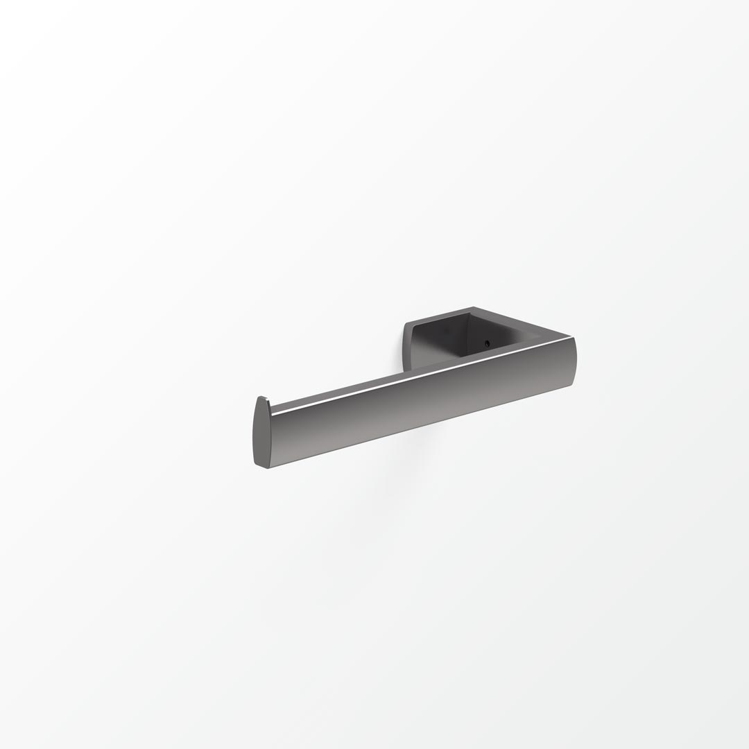 Xylo Double Toilet Roll Holder - Left