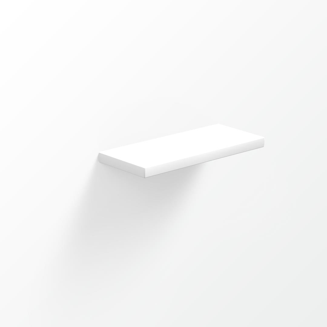 Xylo Solid Surface Shelf - 30x12cm