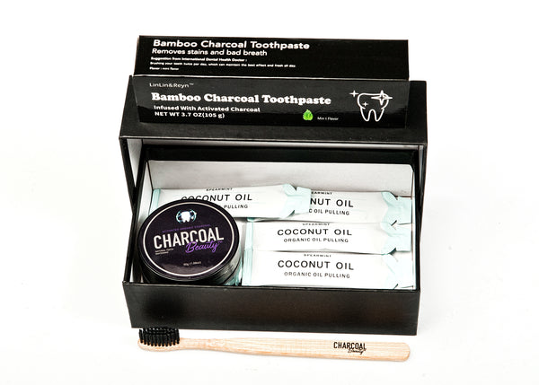 Charcoal Beauty Teeth Whitening Kit