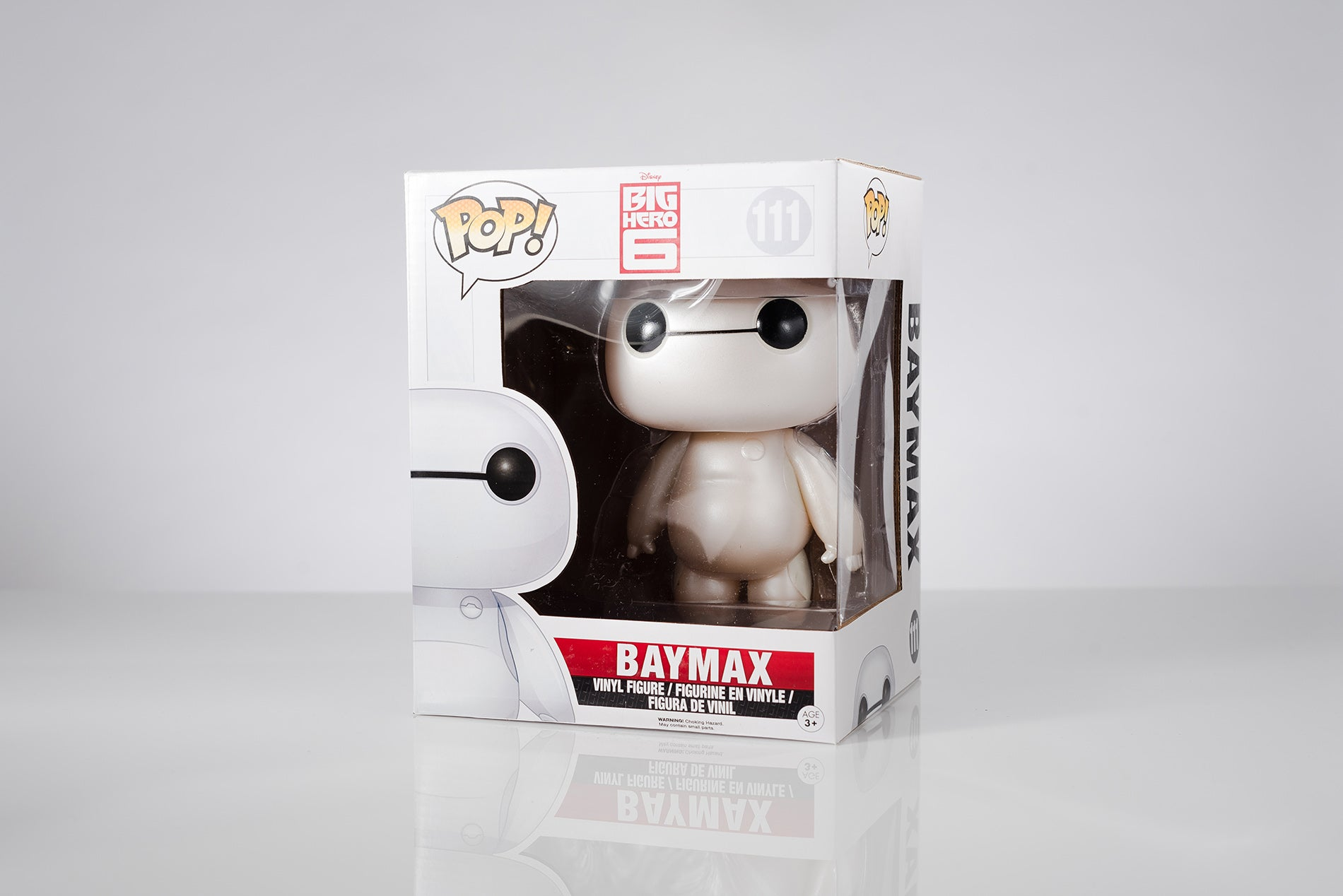 Big Hero 6 Marvel Pearlescent Baymax 6-Inch Pop! Vinyl Figure