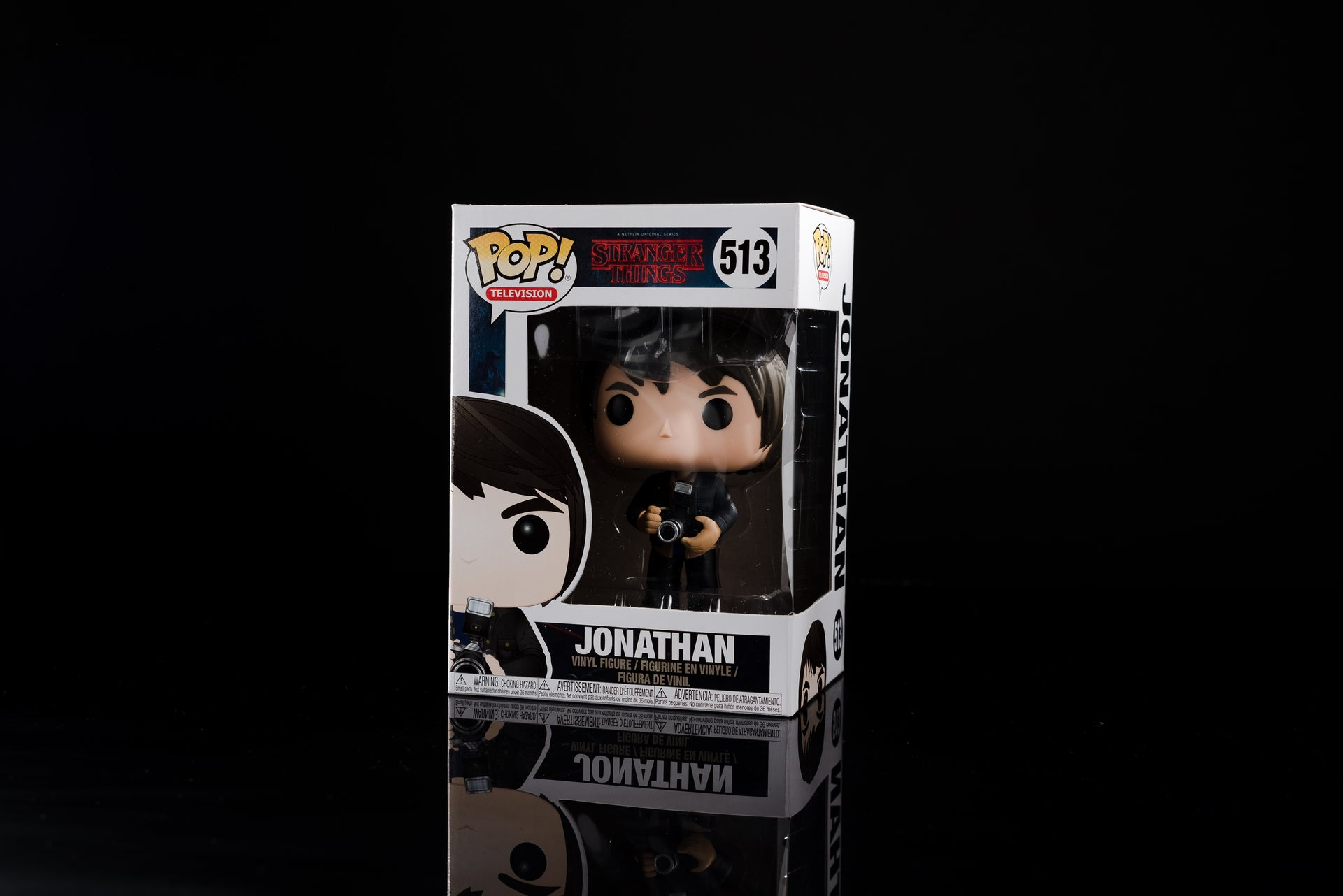 Stranger Things Pop! Vinyl Figure Jonathan