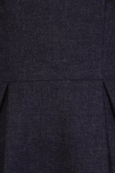 Lena Navy - blue work dress