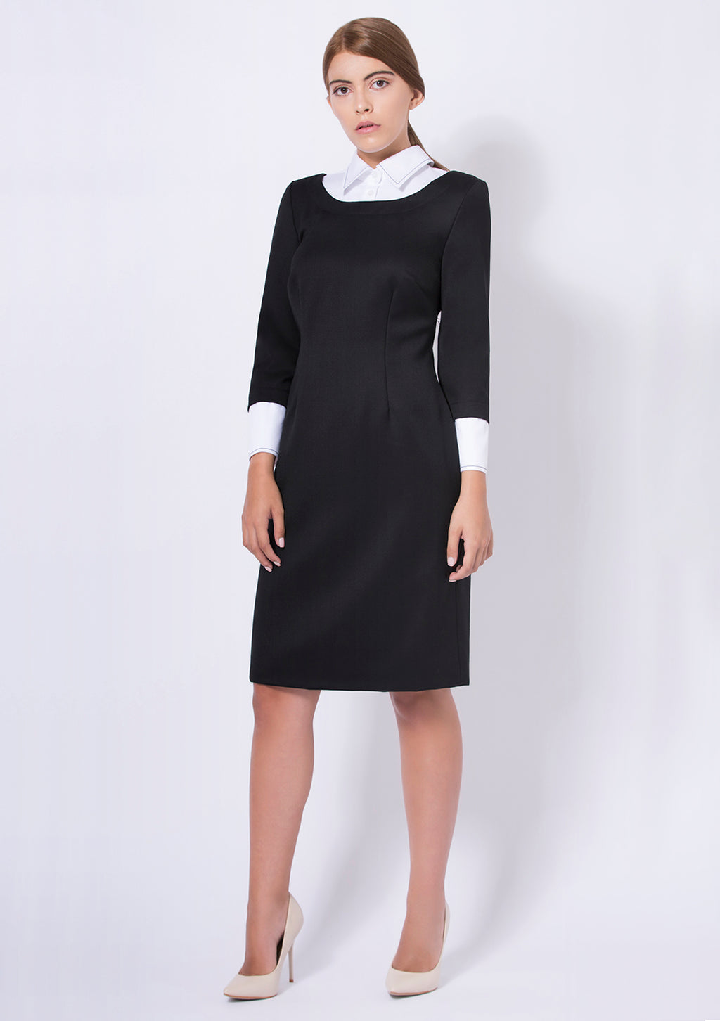 Heaton - elegant black dress