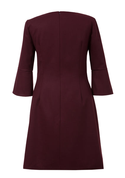 Roscoe - 3/4 sleeve work dress