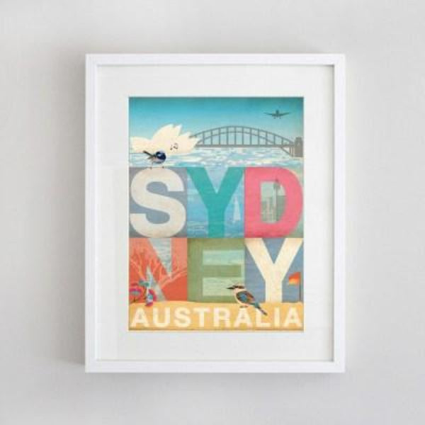 Artwork | Prints | My Sydney Word