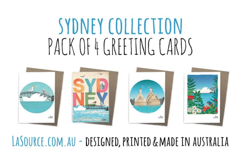 Artwork | Greeting Cards | Sydney Collection Pack of 4 Cards