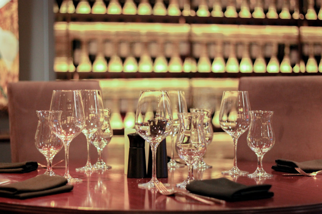 Wine and Food pairing in the Restaurant of a French Chef - Jun 12