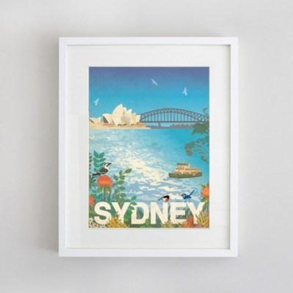 Artwork | Prints | Sydney Scene