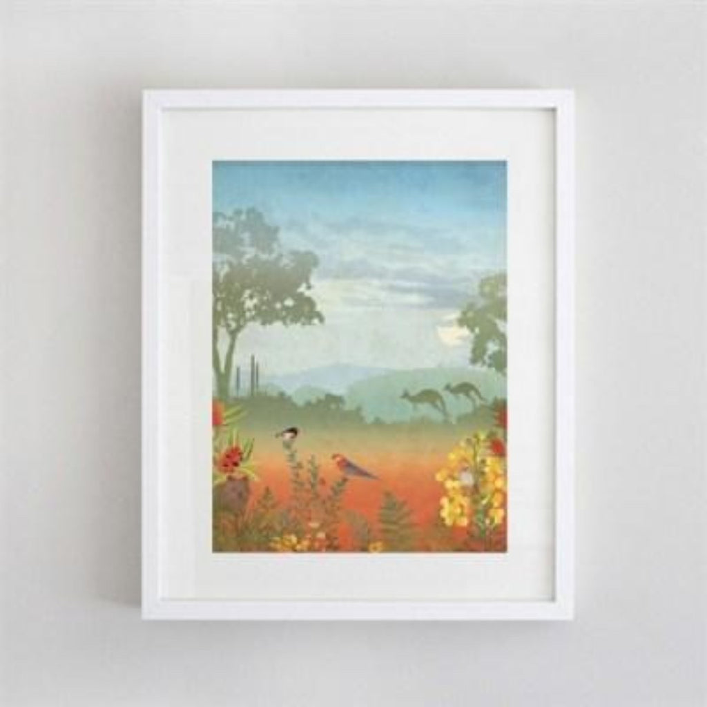 Artwork | Prints | Landscape at La Source II