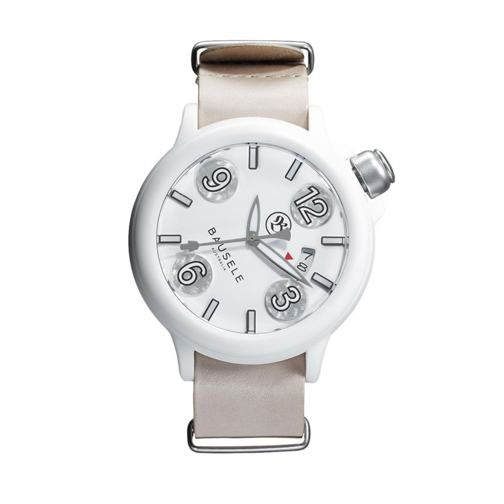 BAUSELE | PILOT AUTOMATIC | ALL WHITE