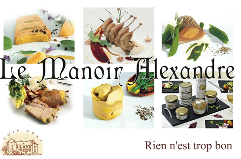 "Terrine of Smoked Duck Breast ""LE MANOIR ALEXANDRE"""