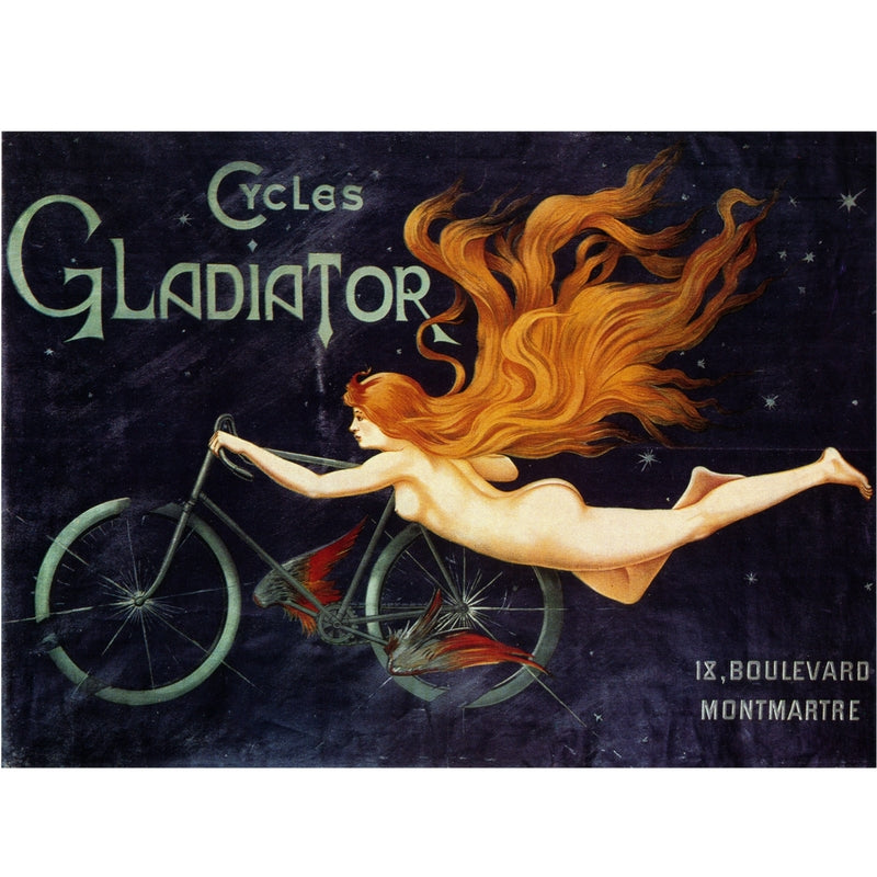 TRANSPORT | CYCLES GLADIATOR 50x70