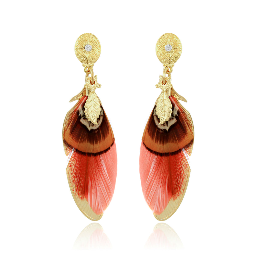 GAS BIJOUX | EARRINGS SAO ORANGE