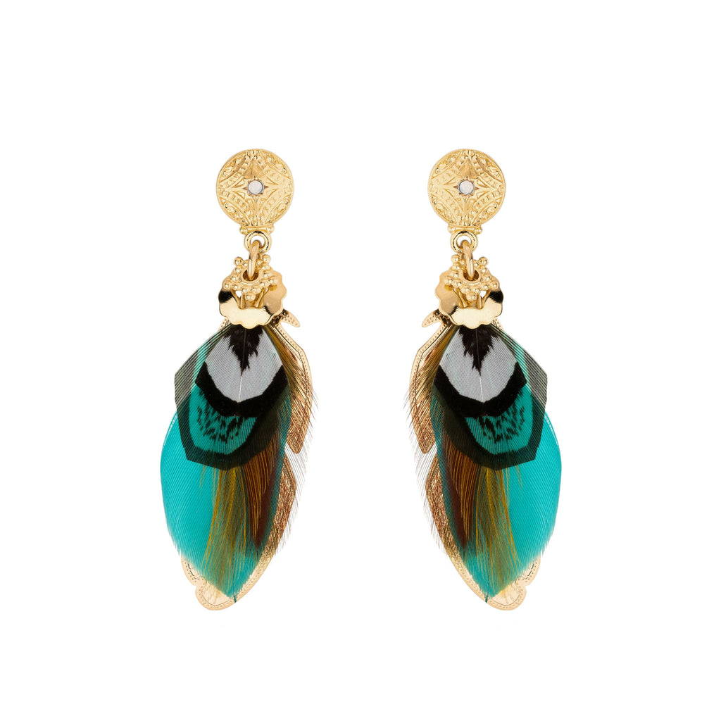 GAS BIJOUX | EARRINGS SAO TURQUOISE