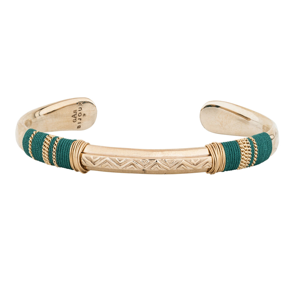 GAS BIJOUX | BRACELET MASSAI GREEN