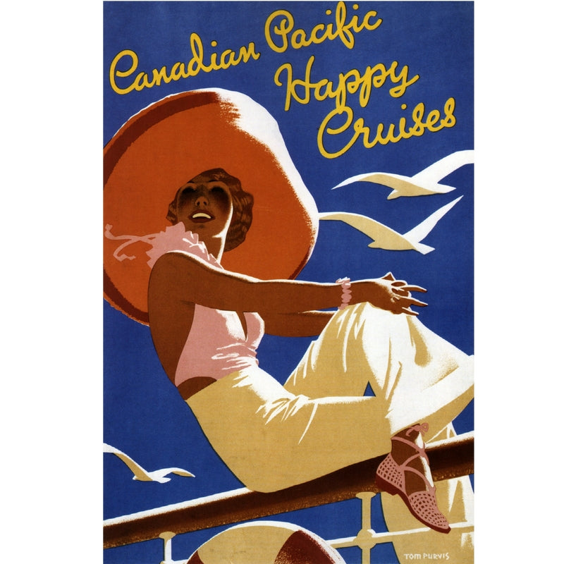 CANADIAN PACIFIC HAPPY CRUISES | 50x70