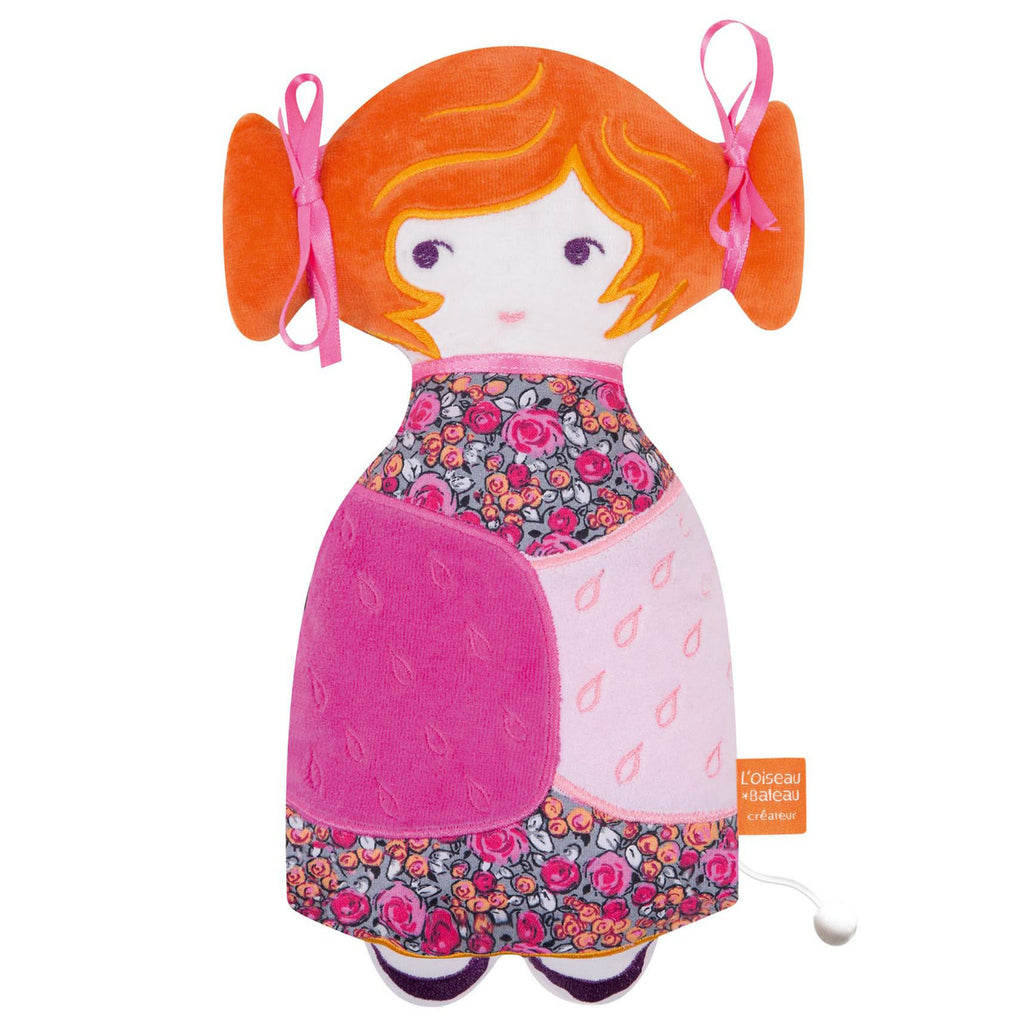 LITTLE FRENCH HEART | L'OISEAU BATEAU TCHIKIBOUM MUSICAL DOLL - MYLENE