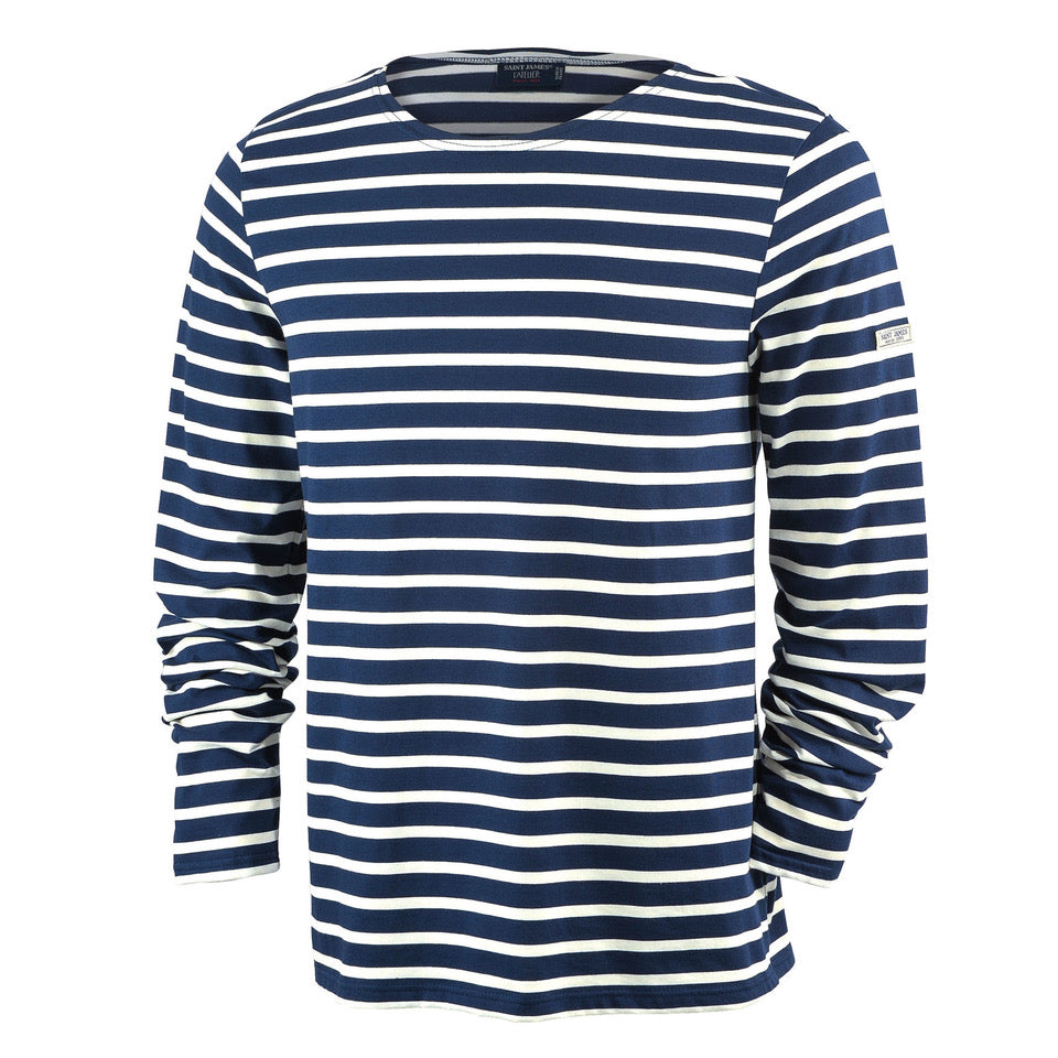 SAINT JAMES | MINQUIERS MODERNE | NAVY & WHITE