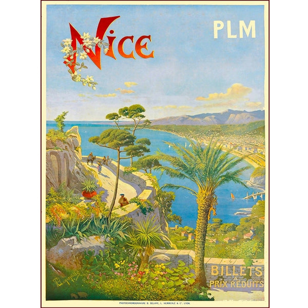 TRAVEL FRANCE | NICE BILLETS 50x70