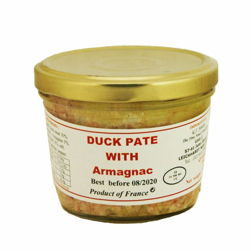 DANOS | 180g DUCK PÂTÉ WITH ARMAGNAC