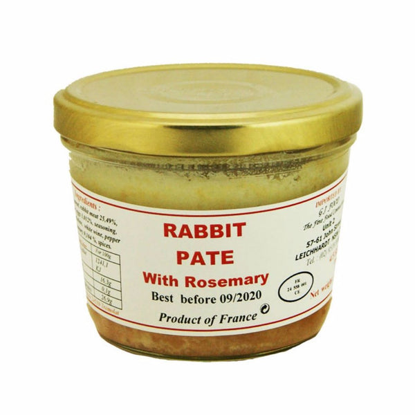 DANOS | 180g RABBIT PÂTÉ WITH ROSEMARY
