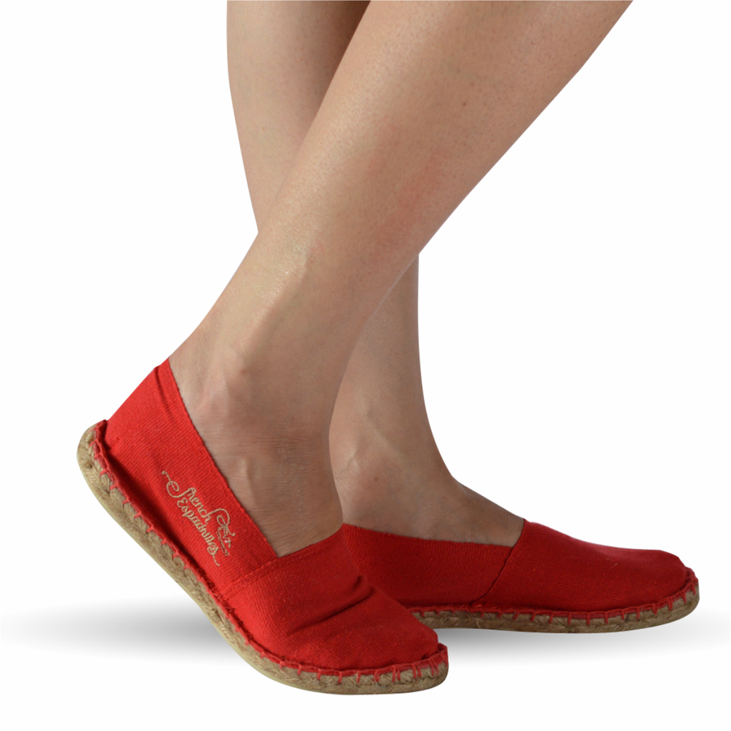 FRENCH ESPADRILLES | RED