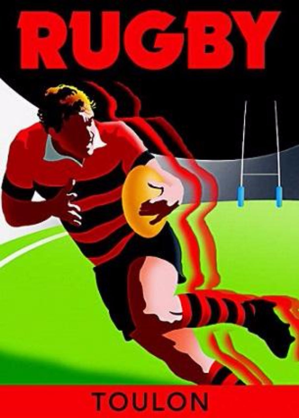 SPORT | RUGBY TOULON 50x70