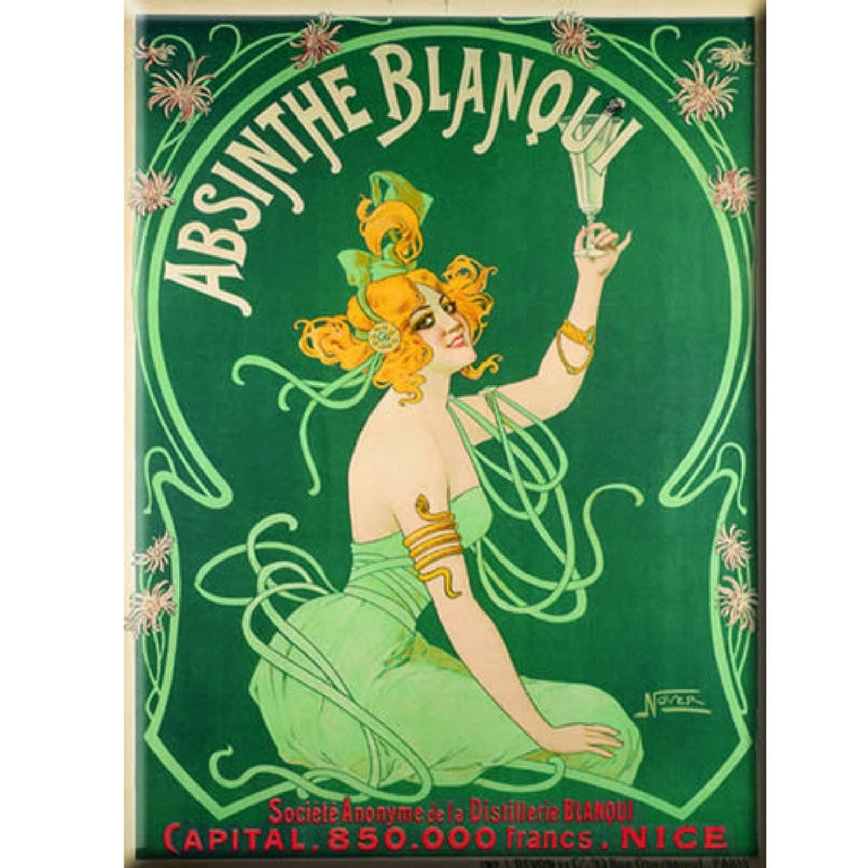 FOOD/DRINK | ABSINTHE BLANQUI 50x70