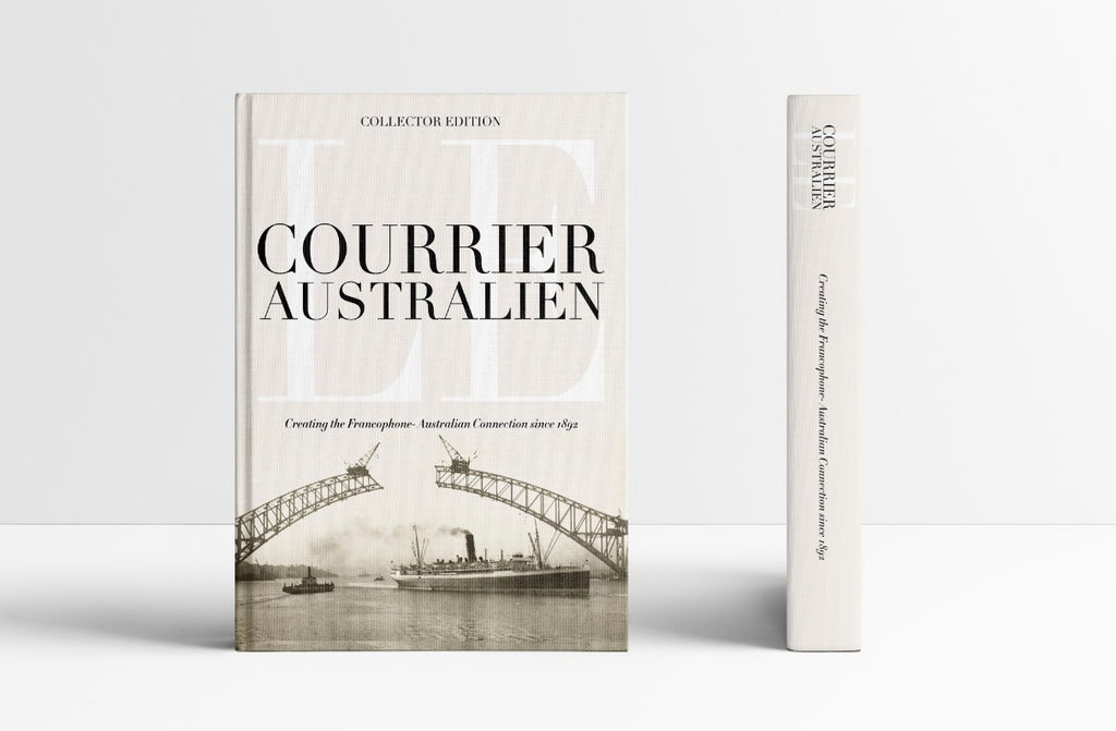 Le Courrier Australien Collectors' Book  - Part 1 (post delivery included - Overseas)