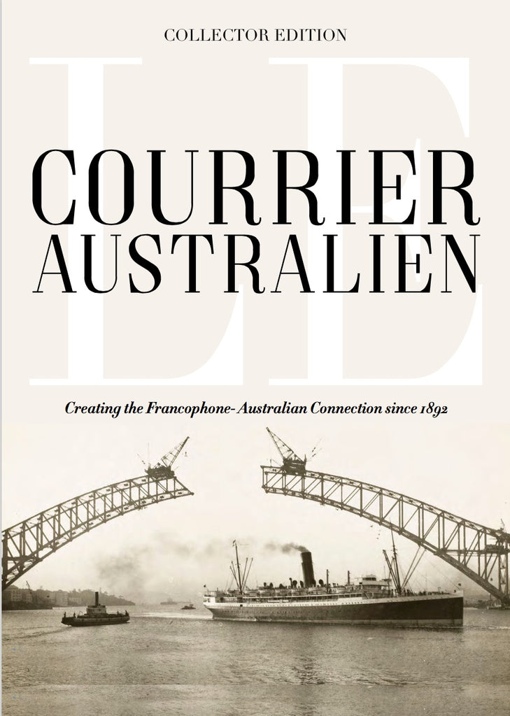 Le Courrier Australien Collectors' Book - Part 1 (PICK UP at Sydney CBD or Killarney Heights - NO Shipping)