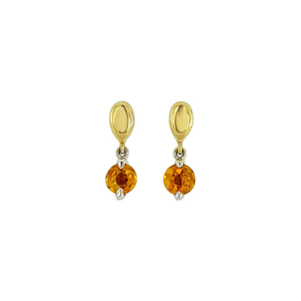 NATALIE BARNEY | PINNACLE | CITRINE DROP EARRINGS