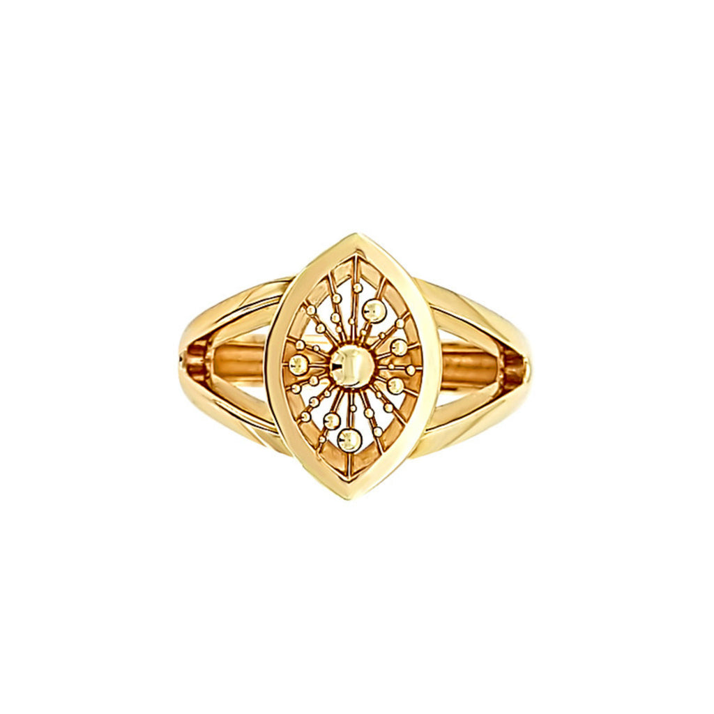 NATALIE BARNEY | SOLEIL | MARQUISE RING