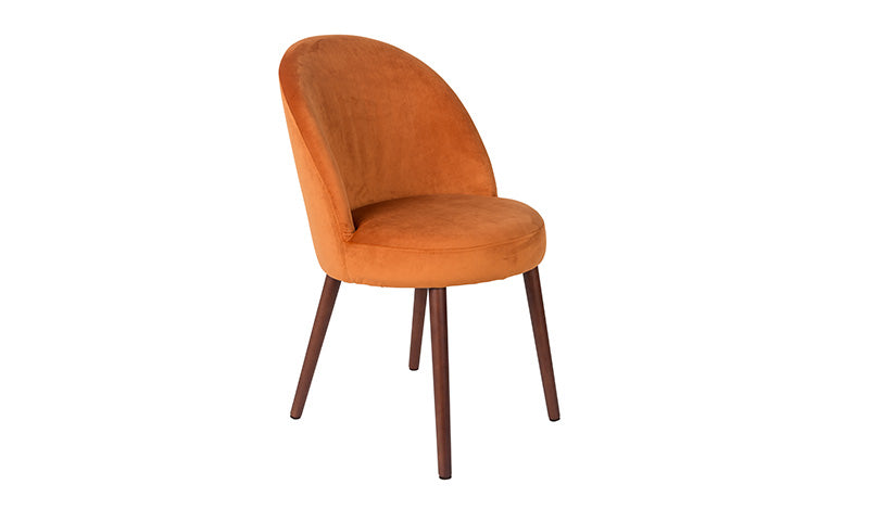 CHAIR BARBARA - ORANGE