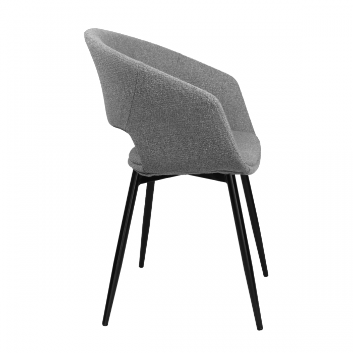 DINING CHAIR DEAN - GREY