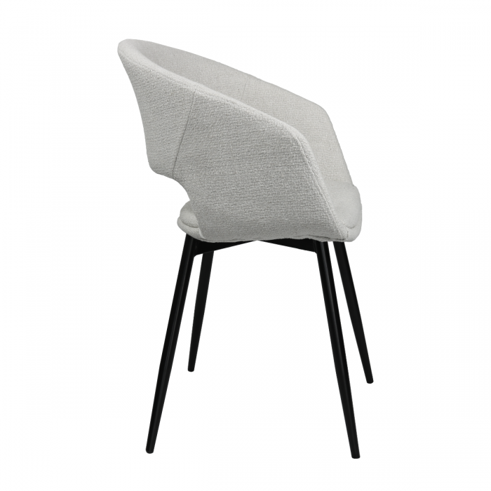 DINING CHAIR DEAN - WHITE