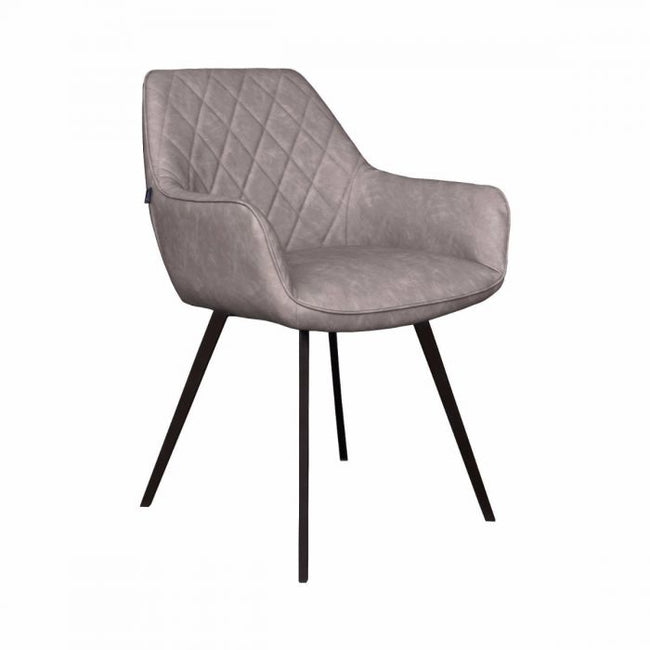 DINING CHAIR  KARL  - GREY/BEIGE