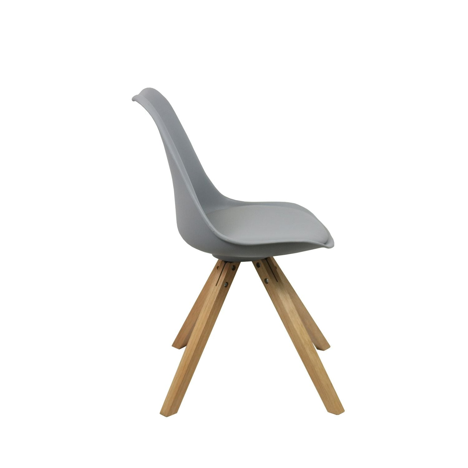 DINING CHAIR LUUK - GREY