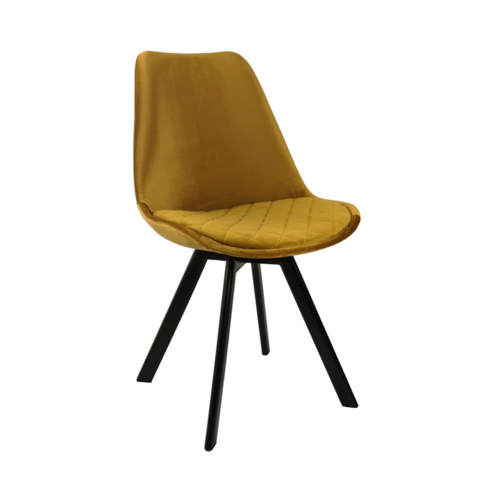 DINING CHAIR SOOF - GOLD
