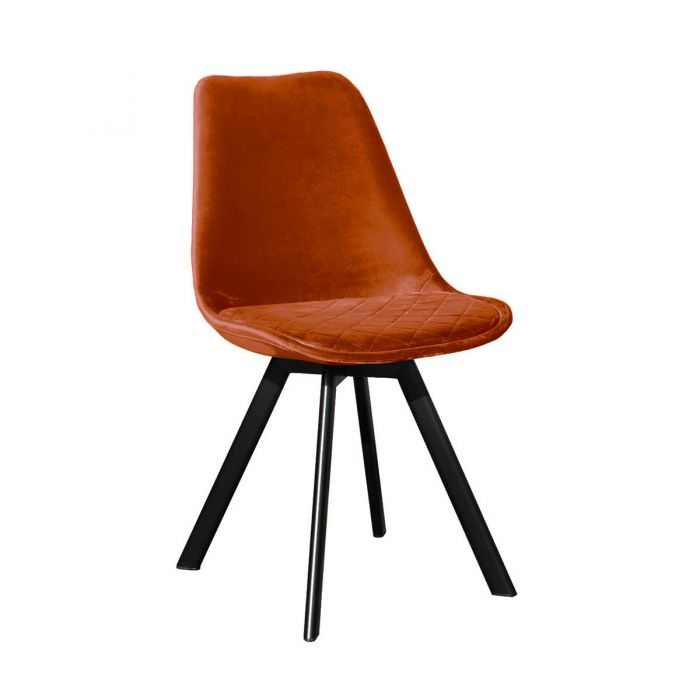 DINING CHAIR SOOF - ORANGE