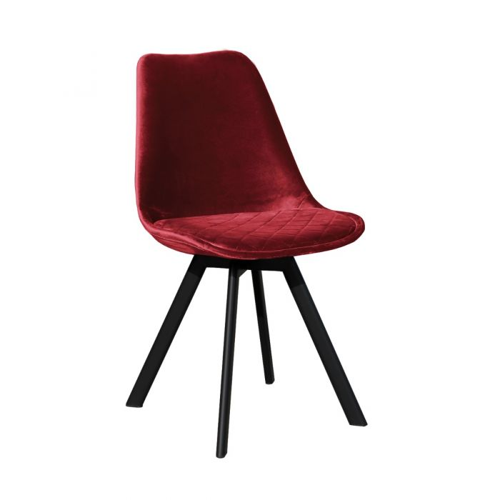 DINING CHAIR SOOF - RED