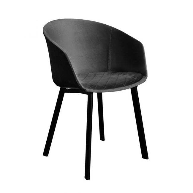 DINING CHAIR VIC  - ANTRACIET