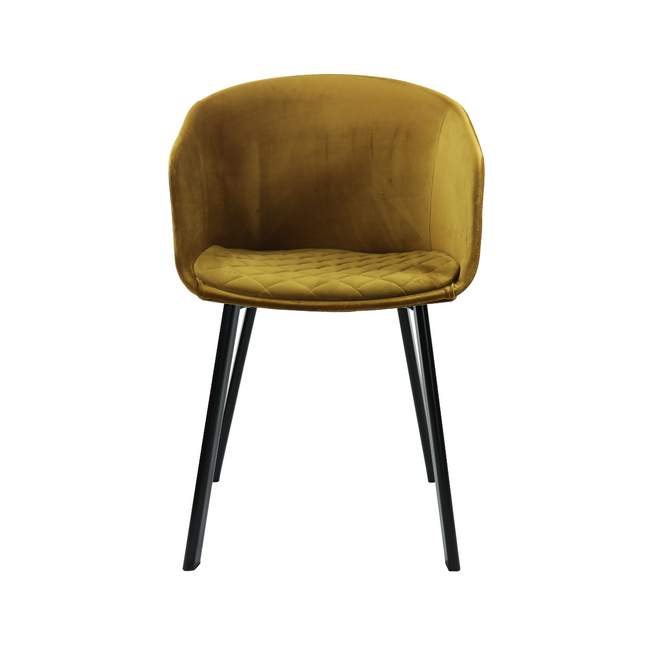 DINING CHAIR VIC  - GOLD
