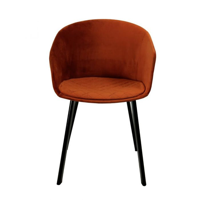 DINING CHAIR VIC - ORANGE