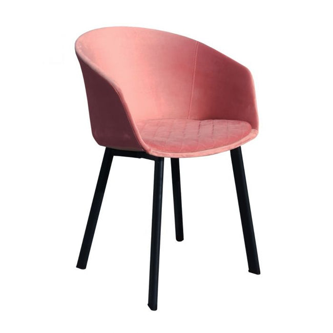 DINING CHAIR VIC - PINK